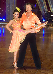 Lilia Kopylova and Julian Clary pose at the Strictly Come Dancing on tour Photo call MEN Arena 21 January 2009 © Paul David Drabble