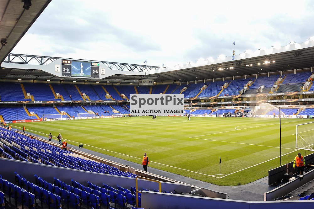 A general view of White Hart Lane before the Tottenham v Qarabag match in the Europa League group stage