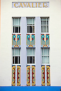 Cavalier Hotel art deco style on Ocean Drive, South Beach, Miami, Florida, USA