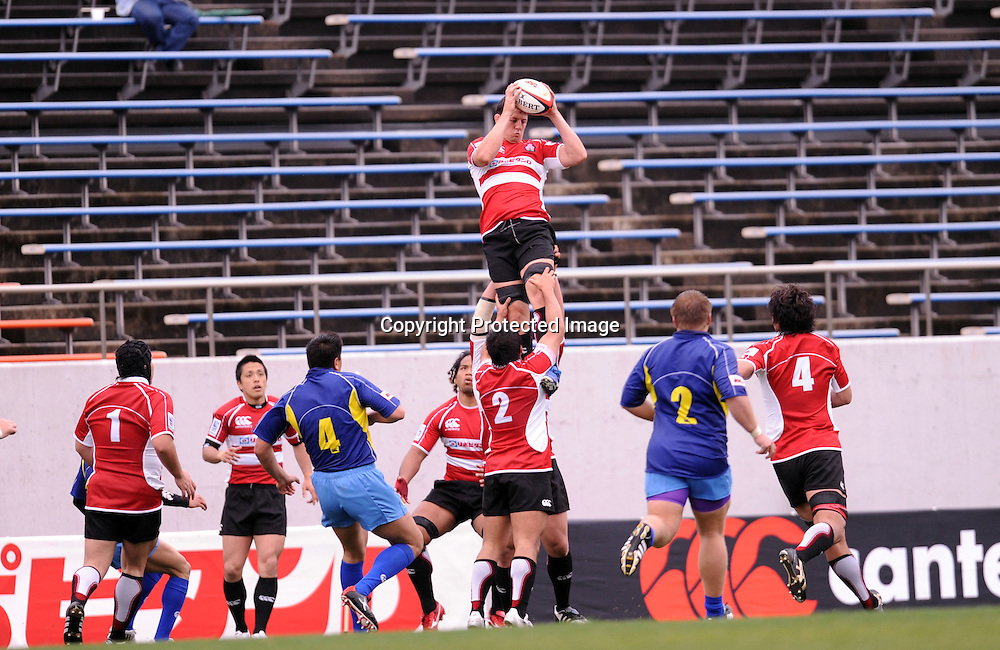 Japan National team group (JPN), APRIL 25, 2009 - Rugby : HSBC Asian 5 Nations 2009 between Japan 87-10 Kazakhstan at Kintstsu Hanazono Rugby Grouns, Tokyo, Japan. (Photo by Atsushi Tomura/AFLO SPORT) [1035]
