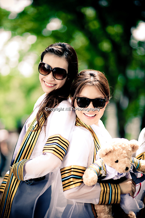 Bangkok Thailand - Jan's Commencement Rehearsal Day at Chulalongkorn University in Bangkok, Thailand.<br /> ภาพรับปริญญา จุฬาลงกรณ์มหาวิทยาลัย<br /> <br /> Photo by NET-Photography.<br /> info@net-photography.com<br /> <br /> See more photos on our website at http://net-photography.com/6961/chulalongkorn-university/?utm_source=photoshelter&amp;utm_medium=link&amp;utm_campaign=photoshelter_albumdes