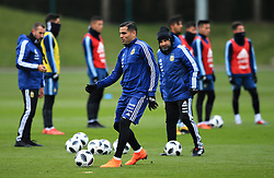 Argentina's Gabriel Mercado - Mandatory by-line: Matt McNulty/JMP - 21/03/2018 - FOOTBALL - Argentina - Training session ahead of international against Italy