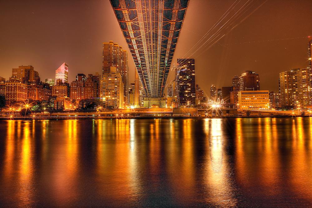 Ed Koch Memorial Bridge New York City HDR Photography