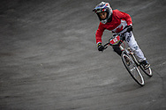 Cruiser - 12 & Under Men #19 (ST DENNIS Dane) CAN at the 2018 UCI BMX World Championships in Baku, Azerbaijan.