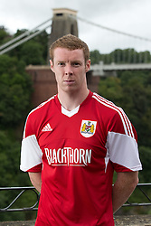 Stephen Pearson of Bristol City - Photo mandatory by-line: Kieran McManus/JMP - Tel: Mobile: 07966 386802 31/07/2013 - SPORT - FOOTBALL - Avon Gorge Hotel - Clifton Suspension bridge - Bristol -  Team Photo