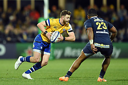 Max Wright of Bath Rugby in possession - Mandatory byline: Patrick Khachfe/JMP - 07966 386802 - 15/12/2019 - RUGBY UNION - Stade Marcel-Michelin - Clermont-Ferrand, France - Clermont Auvergne v Bath Rugby - Heineken Champions Cup