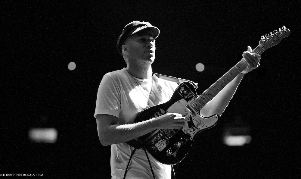 Tom Morello of Rage Against the Machine performs the L.A. Rising Festival at L.A. Coliseum July 30, 2011
