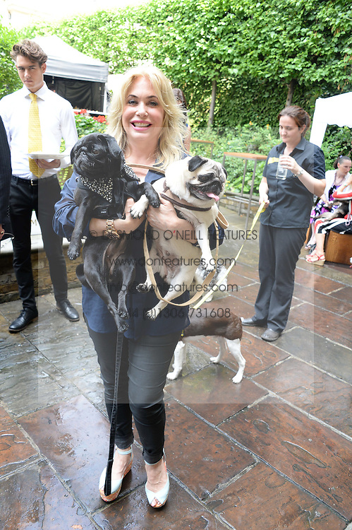 BRIX SMITH START and her dogs at the 6th Dogs Trust Honours held at Home House, Portman Square, London on 23rd July 2013.