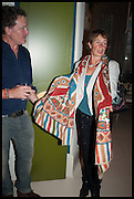 PETER WESTCOTT; CELIA IMRIE, Nicky Haslam hosts a party to launch a book by  Maureen Footer 'George Stacey and the Creation of American Chic' . With a foreword by Mario Buatta. Kensington. London. 11 June 2014