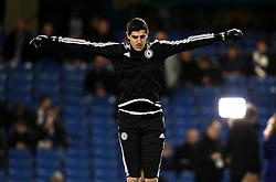 Thibaut Courtois of Chelsea - Mandatory byline: Robbie Stephenson/JMP - 05/12/2015 - Football - Stamford Bridge - London, England - Chelsea v AFC Bournemouth - Barclays Premier League