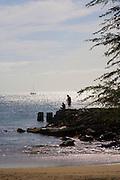 Family fishing, Kihei, Maui