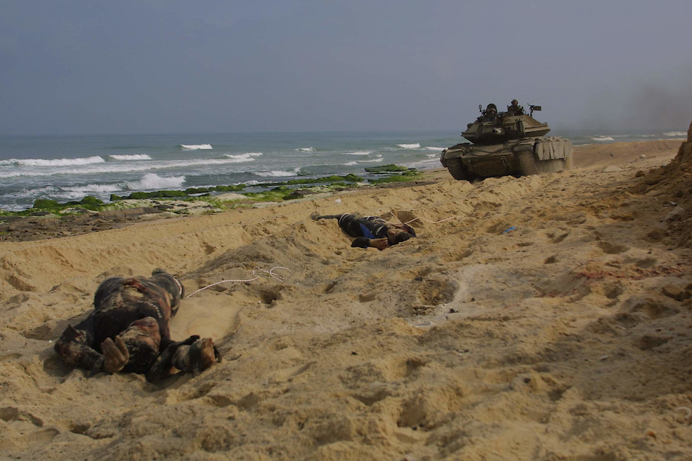 Palestinian militant try to get to the Jewish settlement named Tel-Ktifa in Gaza strip, the militant try to get throw the see by diving from Gaza to the cost near by Tel-Ktifa.