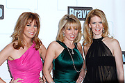 Jill Zarin, Ramona Singer and Alex McCord attend the 2010 Bravo Media Upfront Party at Skylight Studios in New York City on March 10, 2010.