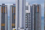 Vista  de la ciudad de Panama, edificada frente a la golfo de Panamá, actualmente cuenta con una construcción de grandes edificios modernos, corredores viales y  centros comerciales.  .Foto: Ramon Lepage / Istmophoto...