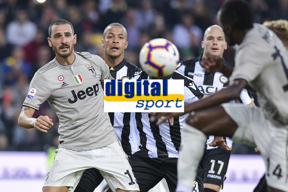 Leonardo Bonucci<br /> Udine 06-10-2018 Stadio Friuli Football Calcio Serie A 2018/2019 Udinese - Juventus<br /> Foto Federico Tardito / OnePlusNine / Insidefoto