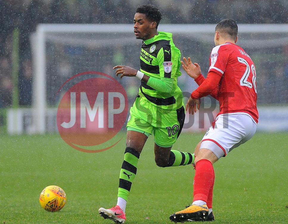 - Mandatory by-line: Nizaam Jones/JMP - 18/11/2017 - FOOTBALL - New Lawn Stadium - Nailsworth, England - Forest Green Rovers v Crewe Alexandre-Sky Bet League Two