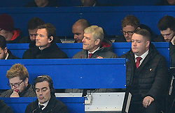 Arsenal manager Arsene Wenger - Mandatory by-line: Alex James/JMP - 10/01/2018 - FOOTBALL - Stamford Bridge - London, England - Chelsea v Arsenal - Carabao Cup semi-final first leg