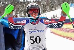 Super Combined and Super G, WOOD Spencer, LW9-2, USA at the WPAS_2019 Alpine Skiing World Championships, Kranjska Gora, Slovenia