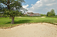UTRECHT - Golfclub Amelisweerd. Clubhuis met fruitbomen.  COPYRIGHT KOEN SUYK