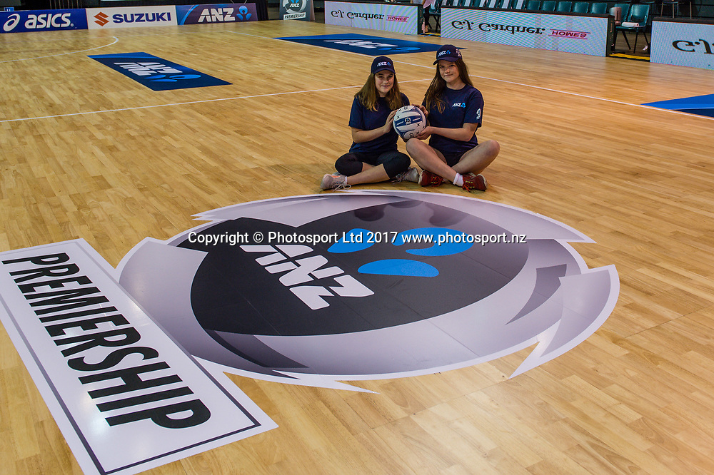 Future Captains Lilly-Rose Shrimpton and Paige Butler  during the ANZ Premiership Netball match, Tactix V Magic, Horncastle Arena, Christchurch, New Zealand, 6th June 2018.Copyright photo: John Davidson / www.photosport.nz