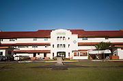 Edificio central de la ciudad del saber, ubicado en Clayton, una ex-base militar de los Estados Unidos de Noteamerica. Panama, 17 de marzo de 2012. (Victoria Murillo/Istmophoto)