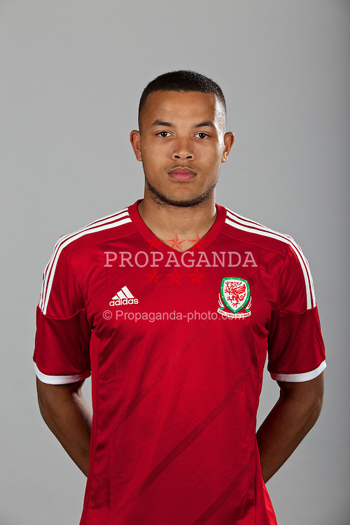 CARDIFF, WALES - Wednesday, April 23, 2014: Wales' Dominic Smith. (Pic by David Rawcliffe/Propaganda)