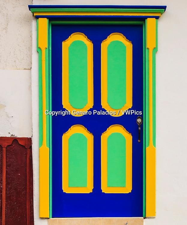 Typical door at Salento