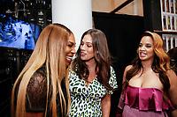 Serena Williams, Ashley Graham and Dascha Polanco backstage during Klarna STYLE360 NYFW Hosts S by Serena Fashion Show