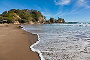 Sandy Bay beach, Matapouri, New Zealand