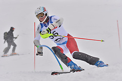 PFYL Thomas LW9-2 SUI at 2018 World Para Alpine Skiing World Cup slalom, Veysonnaz, Switzerland