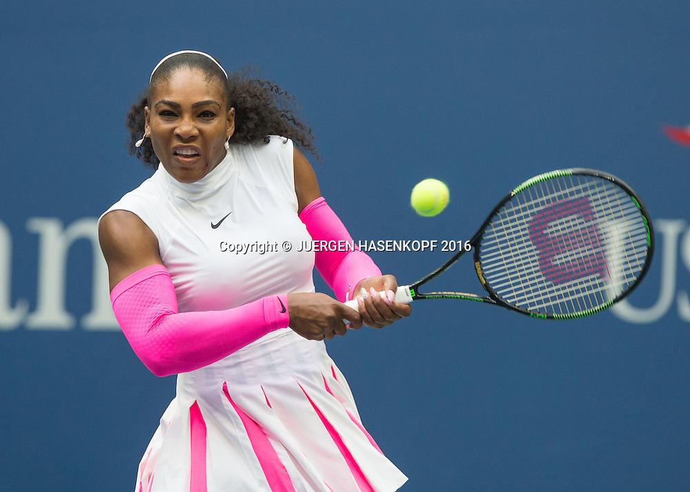 SERENA WILLIAMS (USA)<br /> <br /> Tennis - US Open 2016 - Grand Slam ITF / ATP / WTA -  USTA Billie Jean King National Tennis Center - New York - New York - USA  - 5 September 2016.