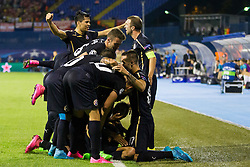 during football match between GNK Dinamo Zagreb, CRO and Arsenal FC, ENG in Group F of Group Stage of UEFA Champions League 2015/16, on September 16, 2015 in Stadium Maksimir, Zagreb, Croatia. Photo by Urban Urbanc / Sportida