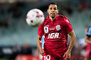 SYDNEY, NSW- NOVEMBER 21: Adelaide United midfielder Karim Matmour (10) takes the ball downfield at the FFA Cup Final Soccer between Sydney FC and Adelaide United on November 21, 2017 at Allianz Stadium, Sydney. (Photo by Steven Markham/Icon Sportswire)