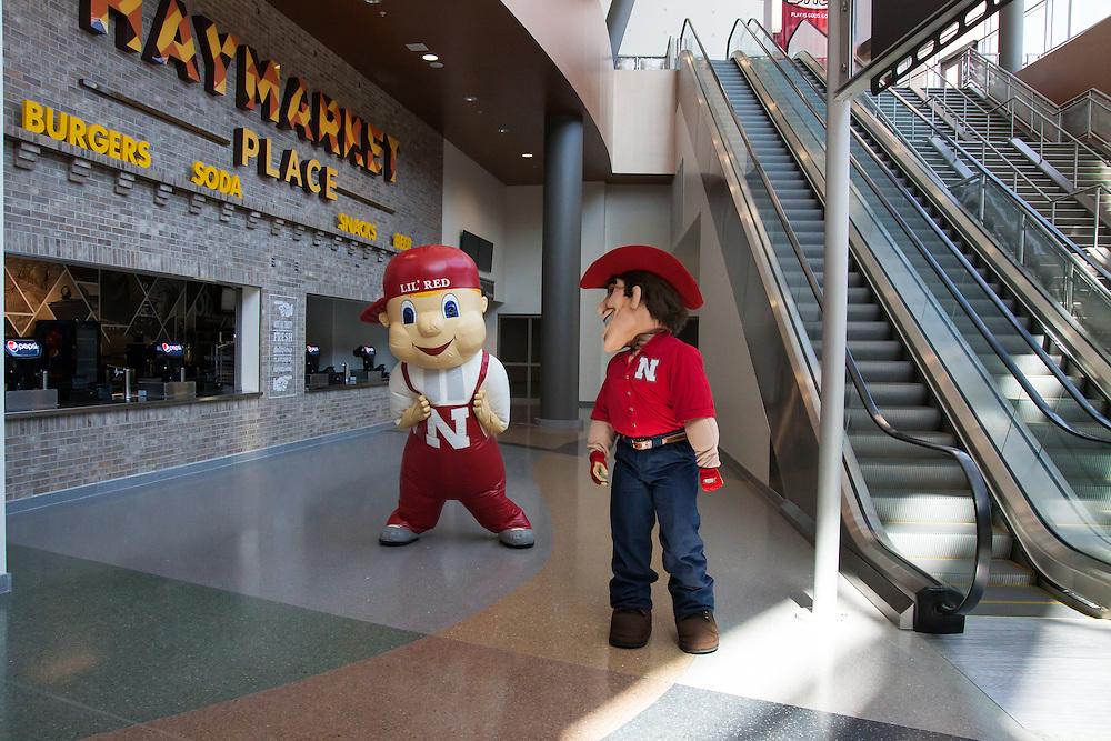 August 29, 2013: Pinnacle Bank Arena in Lincoln, Nebraska.
