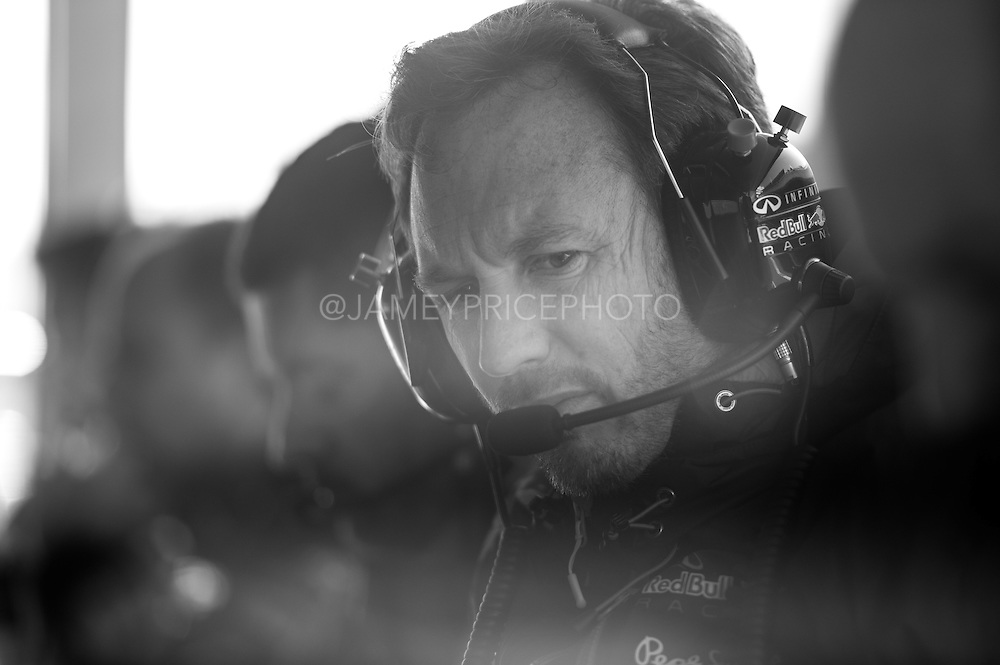 February 19-22, 2015: Formula 1 Pre-season testing Barcelona : Christian Horner, team principal of Red Bull Racing