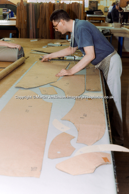 Cutting out patterns Burberry Castleford