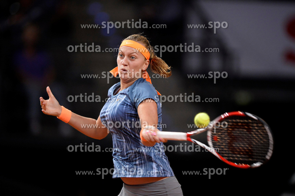 24.04.2013, Porsche Arena, GER, WTA, Porsche Tennis Grand Prix Stuttgart, im Bild Petra KVITOVA CZE // during WTA Porsche Tennis Grand Prix at the Porsche Arena, Stuttgart, Germany on 2013/04/24. EXPA Pictures © 2013, PhotoCredit: EXPA/ Eibner/ Weber..***** ATTENTION - OUT OF GER *****