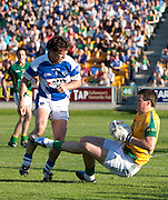 Senior Football Championship Quarter Final Replay. Meath vs Laois 19/6/10.Meath keeper, Paddy O`Rourke & Padraig McMahon (Laois).Photo: David Mullen /www.cyberimages.net