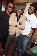26 February 2011-New York, NY- l to r: Lupe Fiasco, Mos Def and Robert Glasper at The Robert Glasper Experiment Produced in Association with Jill Newman Productions and held at The Blue Note on February 26, 2011 in New York City. Photo Credit: Terrence Jennings