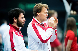 Romain Arneodo and Benjamin Balleret of Monaco during Day 3 of the tennis matches between Slovenia and Monaco of 2017 Davis Cup Europe/Africa Zone Group II, on February 5, 2017 in Tennis Arena Tabor, Maribor Slovenia. Photo by Vid Ponikvar / Sportida