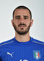 FLORENCE, ITALY - JUNE 01:  Leonardo Bonucci of Italy poses for a photo ahead of the UEFA Euro 2016 at Coverciano on June 1, 2016 in Florence, Italy.  Foto Claudio Villa/FIGC Press Office/Insidefoto