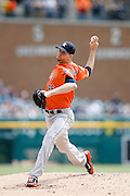 DETROIT, MI - MAY 21: Scott Feldman #46 of the Houston Astros pitches during the game against the Detroit Tigers at Comerica Park on May 21, 2015 in Detroit, Michigan. The Tigers defeated the Astros 6-5 in 11 innings. (Photo by Joe Robbins) *** Local Caption *** Scott Feldman