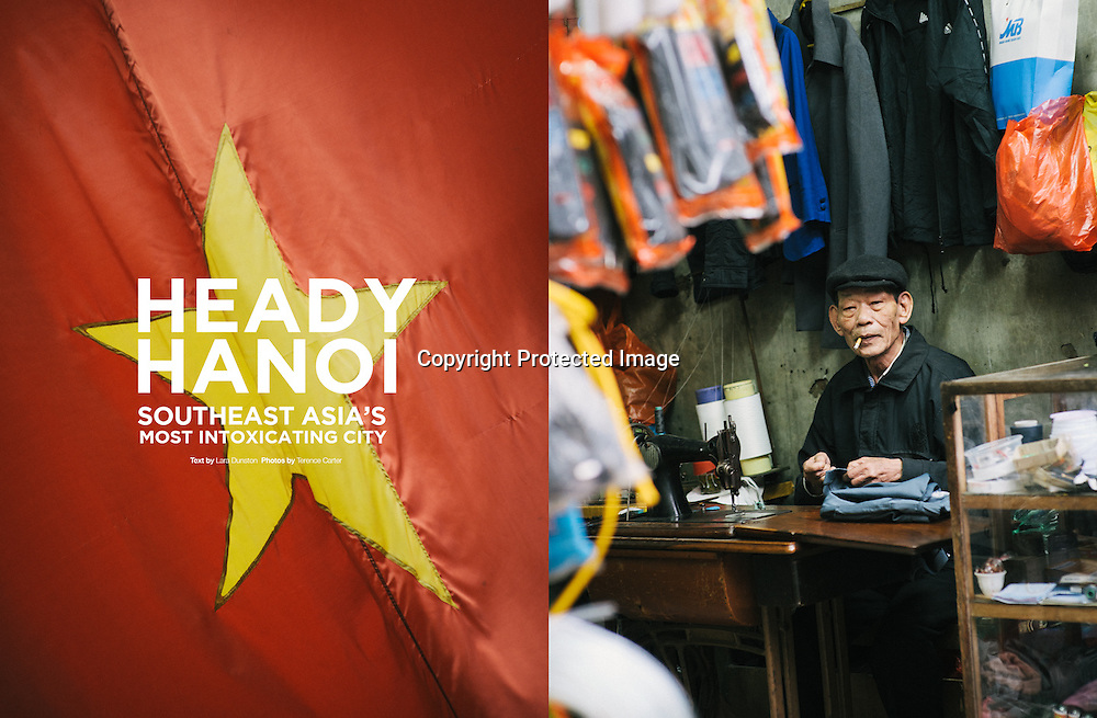 Lifestyle+Travel Magazine feature story on Hanoi, Vietnam.