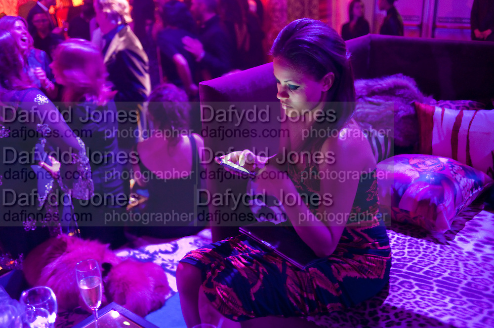 RACHEL BARRETT, Dinner and party  to celebrate the launch of the new Cavalli Store at the Battersea Power station. London. 17 September 2011. <br /> <br />  , -DO NOT ARCHIVE-&copy; Copyright Photograph by Dafydd Jones. 248 Clapham Rd. London SW9 0PZ. Tel 0207 820 0771. www.dafjones.com.