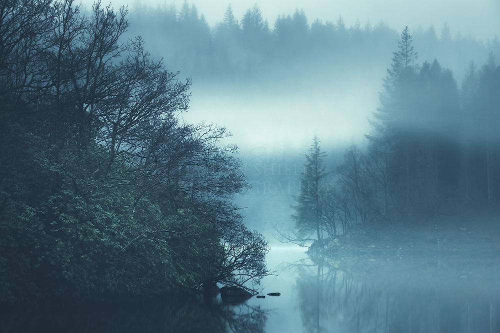 Loch Ard, Kinlochard, the Trossachs, Scotland