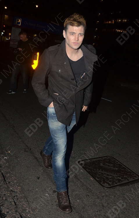 30.OCTOBER.2011. LONDON<br /> <br /> MARK WRIGHT ARRIVING AT A HALLOWEEN PARTY HELD AT 5 CAVENDISH SQUARE IN LONDON<br /> <br /> BYLINE: EDBIMAGEARCHIVE.COM<br /> <br /> *THIS IMAGE IS STRICTLY FOR UK NEWSPAPERS AND MAGAZINES ONLY*<br /> *FOR WORLD WIDE SALES AND WEB USE PLEASE CONTACT EDBIMAGEARCHIVE - 0208 954 5968*