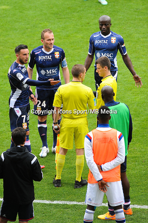 Benoit BASTIEN - 02.05.2015 - Lyon / Evian Thonon - 35eme journee de Ligue 1<br />