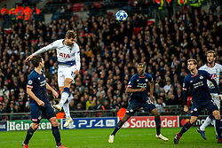 November 6, 2018 - London, Greater London, England - Fernando Llorente of Tottenham Hotspur takes a shot at goal during the UEFA Champions League Group Stage match between Tottenham Hotspur and PSV Eindhoven at Wembley Stadium, London, England on 6 November 2018. Photo by Salvio Calabrese. (Credit Image: © AFP7 via ZUMA Wire)