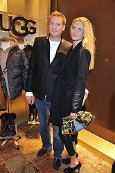 ED GRANT and CHLOE DELEVINGNE at a party to celebrate the opening of the new UGG Australia Flagship store at 5-7 Brompton Road, London on 2nd November 2011.