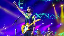 Natiruts se apresenta no Palco Planeta  durante a 22ª edição do Planeta Atlântida. O maior festival de música do Sul do Brasil ocorre nos dias 3 e 4 de fevereiro, na SABA, na praia de Atlântida, no Litoral Norte gaúcho.  Foto: Gustavo Roth / Agência Preview